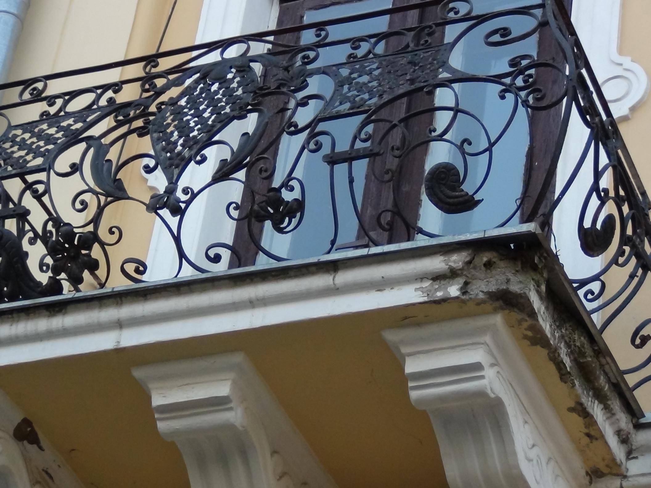 Балкон в австрийском стиле