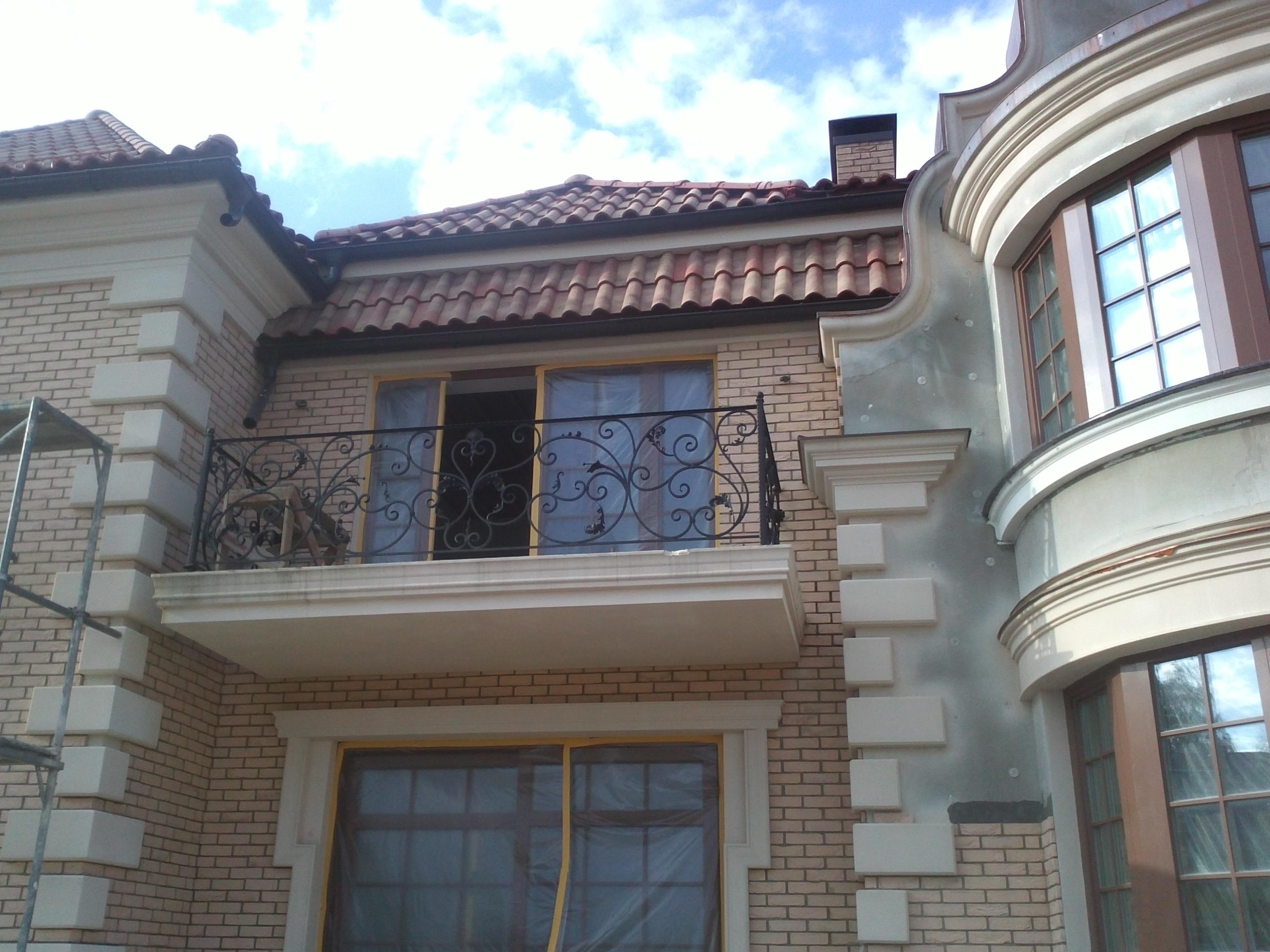 балкон кованый Австрийский стиль