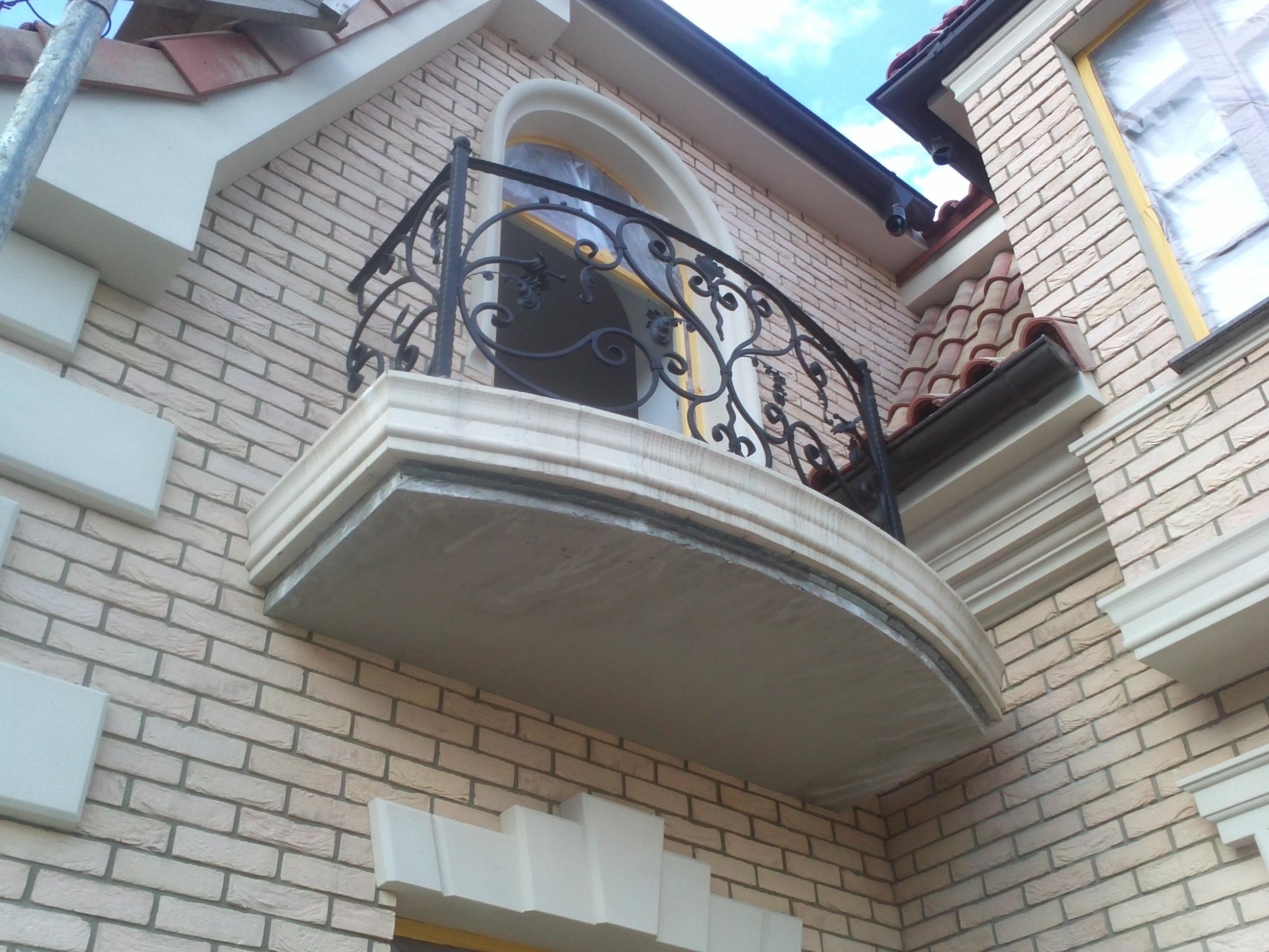 39) Балкон кованый