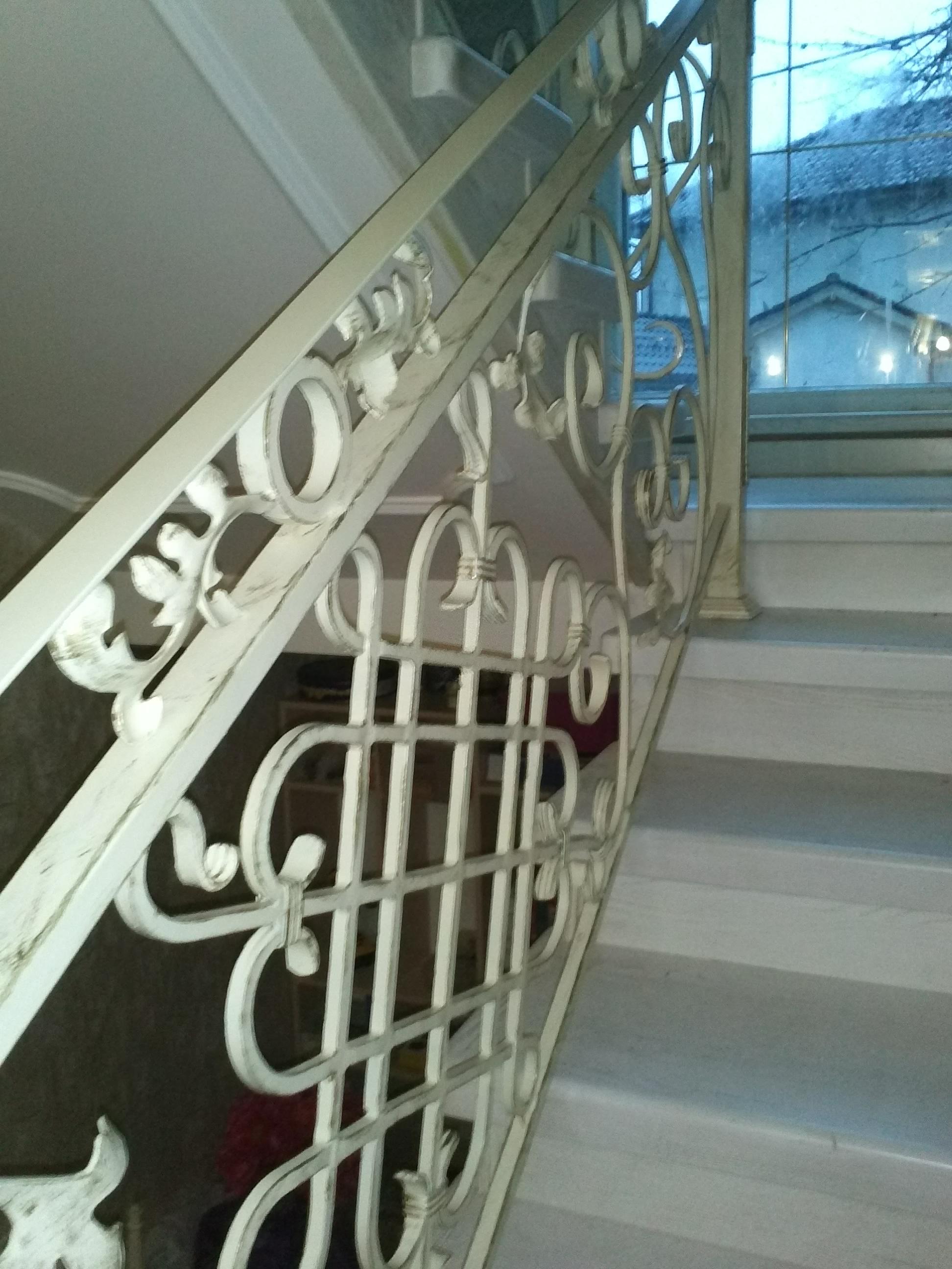 Лестницы№3 фото№2. Патина сусальное золото